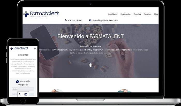 servicios web farmatalent